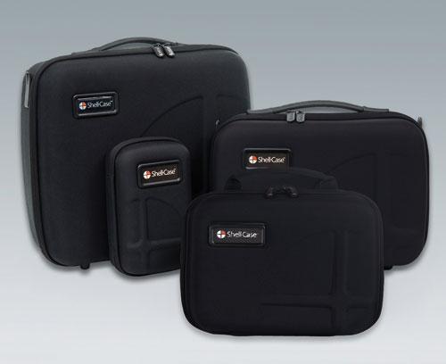 Carry cases for transportation, protection and presentation