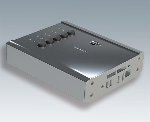 New extruded enclosures for embedded PCs and systems