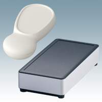 Plastic and aluminium enclosures