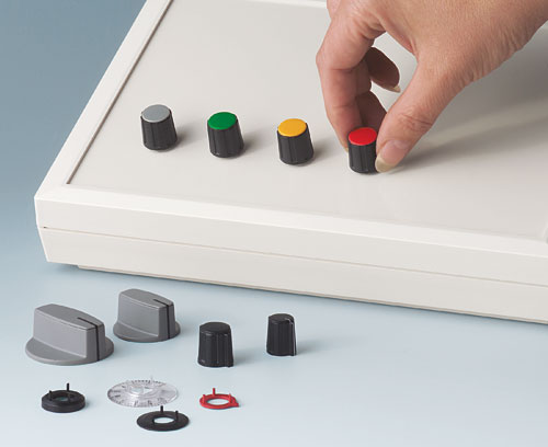 Functional accessories for combination knobs from OKW