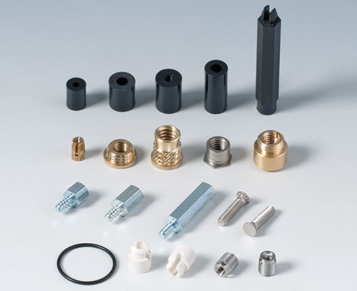 a wide range of fasteners