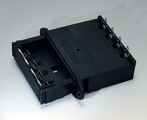 A9302540 Battery holder, 4 x AA