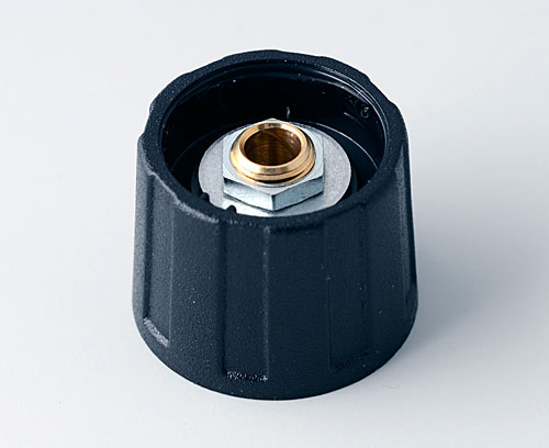 A2520040 ROUND KNOB 20, without line