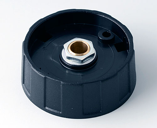 A2540060 ROUND KNOB 40, without line