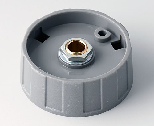 A2540068 ROUND KNOB 40, without line