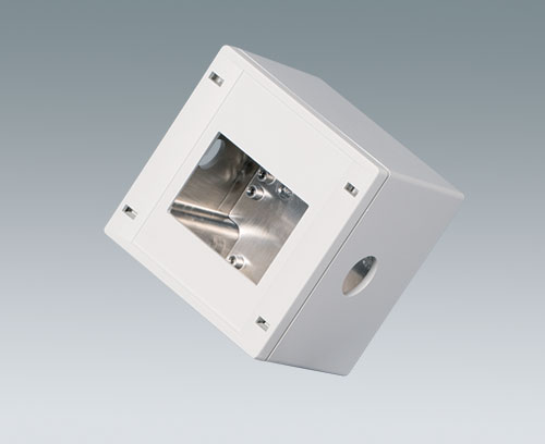 SNAPTEC enclosure with aluminium coating and machining