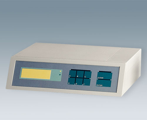 Recessed area for membrane keypad