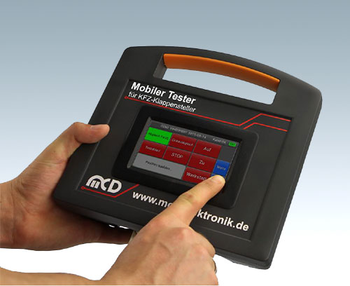 Mobile testing device for cost-effective fault analysis