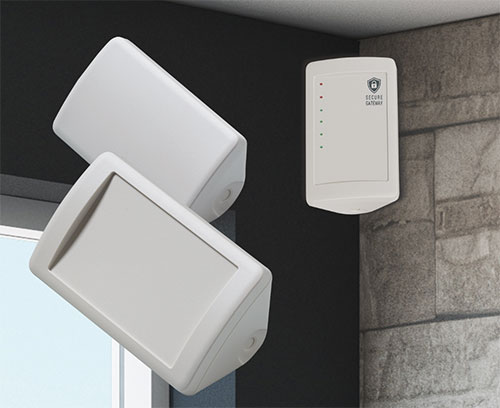 Smart-Control enclosures for room corners