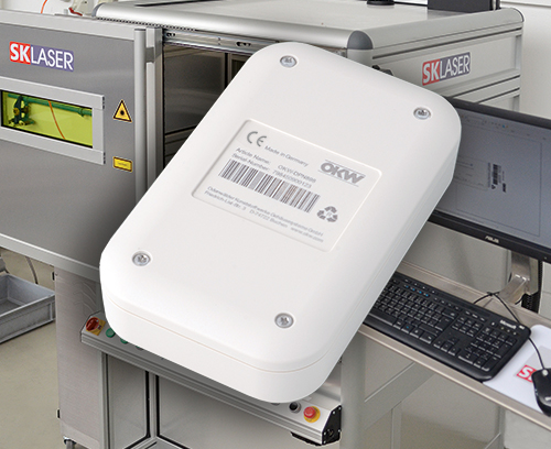OKW's laser marking service for electronic enclosures
