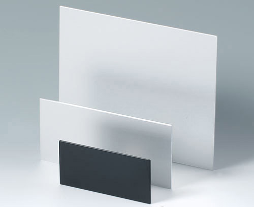 Individual sizes and shapes of plastic and aluminium panels