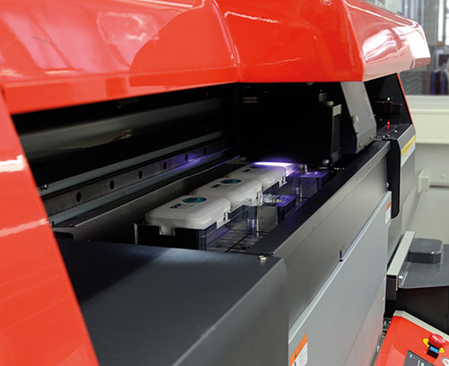 Digital printing of the parts