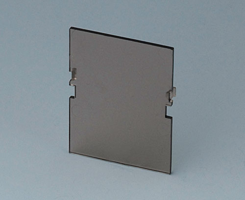 B6601580 Front panel, 2 modules, Vers. VI