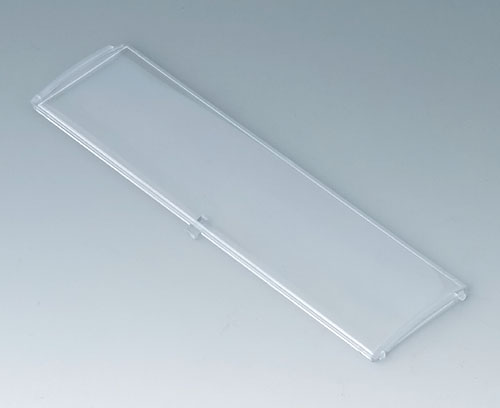 B6806202 Front lid convex with hinge, 9 modules