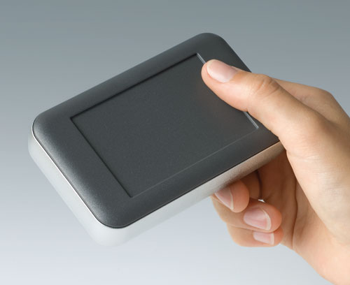 Wide format handheld enclosures