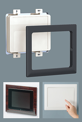 Flush mount enclosures