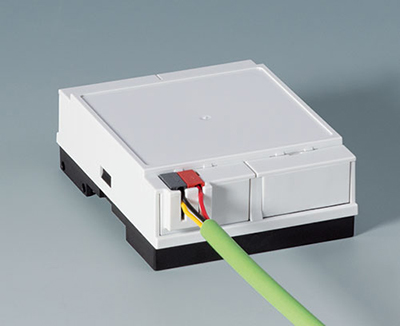 DIN Rail Enclosures with KNX connection
