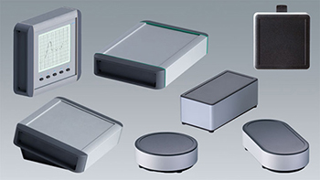 Small extruded enclosures