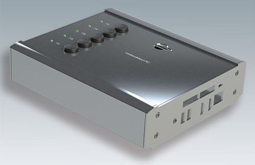Embedded pc enclosures