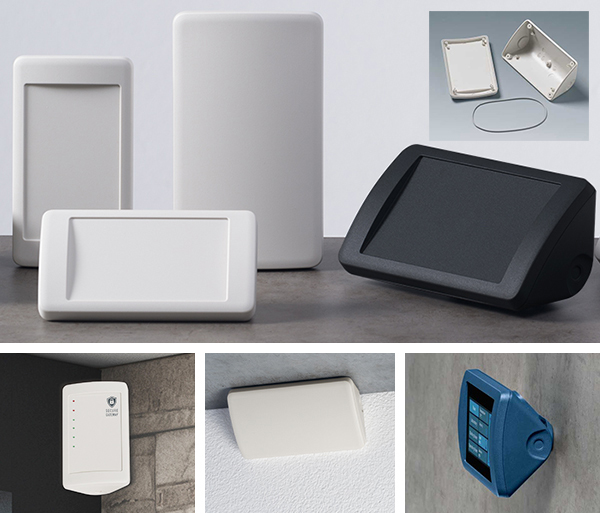 Smart-Control corner electronic enclosures