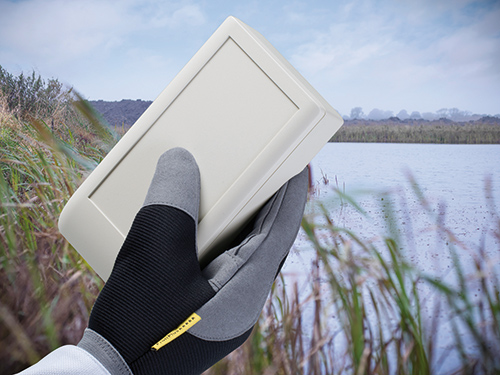Outdoor handheld enclosures