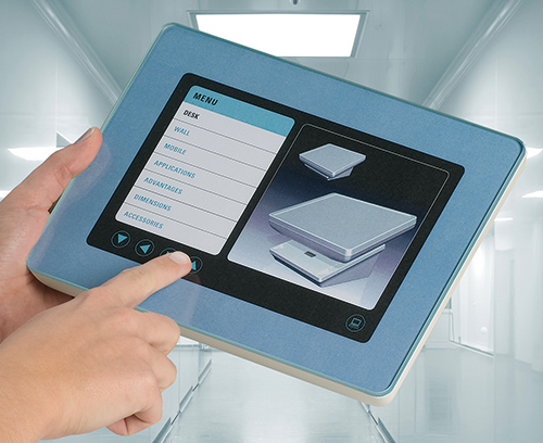 Touchscreen enclosures