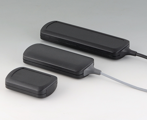 Connect wired enclosures in black